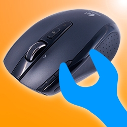 Ремонт двойного клика мышки logitech vx nano