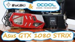 Китайский водоблок на GTX 1080 Strix - тестирование водоблоков