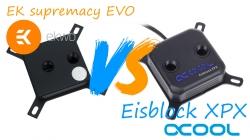 Тестируем водоблоки Alphacool Eisblock XPX vs EK Supremacy EVO