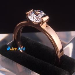 Фото Кольцо Шикарный алмаз