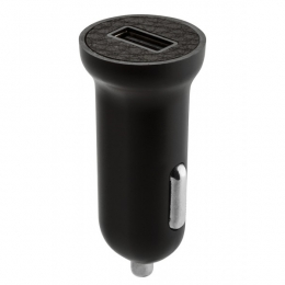Фото Автомобильное зарядное устройство Ozaki O!tool High Speed Car Charger USB 2.4 A Leather (OT280LBK)
