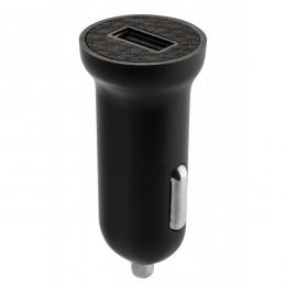 Фото Автомобильное зарядное устройство Ozaki O!tool High Speed Car Charger USB 2.4 A Carbon (OT280CBK)
