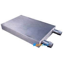 Фото Водоблок для термоэлектрических модулей Пельтье (80х120)