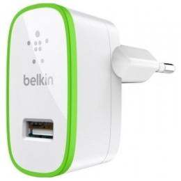 Фото Автомобильное ЗУ Belkin USB HomeCharger 2.1 A ( F8J052cwWHT) White
