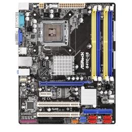 Фото Материнская плата ASRock G41C-GS R2.0 (s775, G41/ICH 7, DDR3, DDR2)
