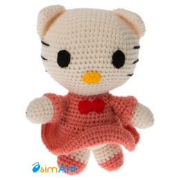 Фото Hello Kitty (бледно-розовая)