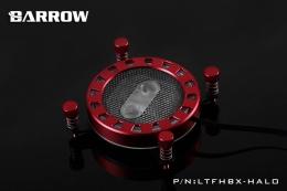 Фото Водоблок Barrow Energy Series RGB для процессоров Intel Red (LTFHBX-Halo)