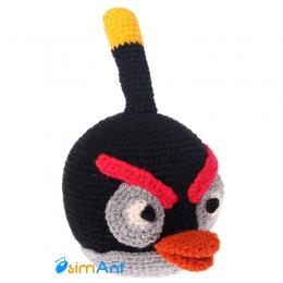 Фото Черная птица Бомб (Angry Birds)