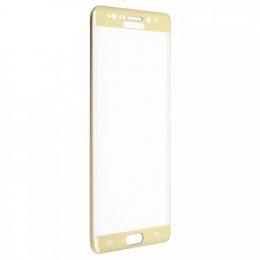 Фото Защитное стекло 2E для Samsung Note 7 Gold 3D curved (2E-TGSG-N7G)