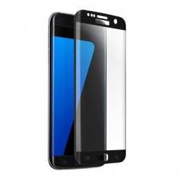 Фото Защитное стекло 2E для Samsung S7 Edge Black 3D curved (2E-TGSG-S7EB)