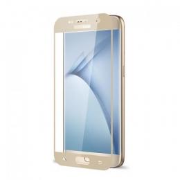 Фото Защитное стекло 2E для Samsung S7 Gold 3D curved (2E-TGSG-S7G)