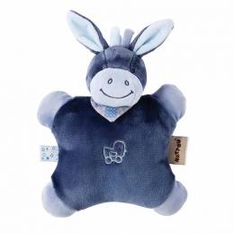 Фото Мягкая игрушка-подушка Nattou ослик Алекс (321099)