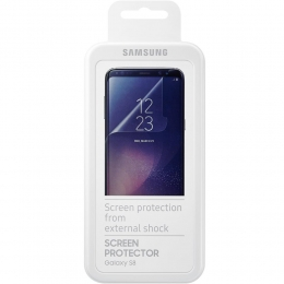 Фото Защитная пленка Samsung для смартфона Galaxy S8 (G950) Transparent (ET-FG950CTEGRU)