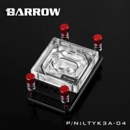 Фото Водоблок для процессора Barrow AMD Ryzen AM4 Red (LTYK3A-04)