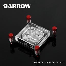 Фото Водоблок для процессора Barrow Intel X99 Red (LTYK3X-04)