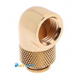 Фото Поворотный угловой адаптер 90 градусов Barrow Gold (TWT90-v2.5) Золотой