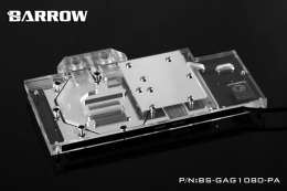 Фото Водоблок для видеокарты Barrow Galaxy GTX1080/1070/1060 Gamer (BS-GAG1080-PA)