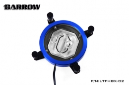 Фото Водоблок для процессора Barrow Energy series X99 CPU Water Block Supreme Edition Blue (LTFHBX-02N)