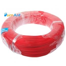 Фото Монтажный провод красный 1.4мм
