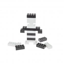 Фото Конструктор Light Stax с LED подсветкой Expansion Черный/Белый S11002 (LS-S11002)