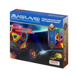 Фото Конструктор Magplayer магнитный набор 45 эл. (MPA-45)