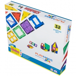 Фото Конструктор PlayMags магнитный набор 32 эл. (PM165)