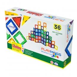 Фото Конструктор PlayMags магнитный набор 36 эл. (PM168)
