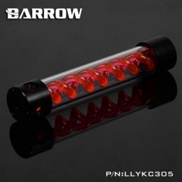 Фото Резервуар Barrow T Virus Reservoir 305 mm Black-Black (Red Spiral) (LLYKC305)
