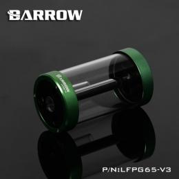 Фото Резервуар цилиндрический стеклянный Barrow LFPG65-V3 120 mm 260 ml Green