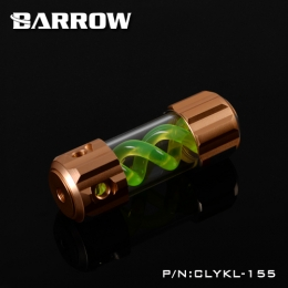 Фото Резервуар Barrow T Virus Reservoir 155 mm Gold (Green Spiral) (CLYKL155)
