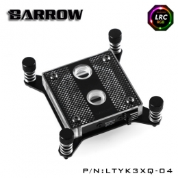 Фото Водоблок для процессора Barrow Hole Edition Intel X99 Black (LTYK3XQ-04)