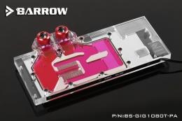 Фото Водоблок Barrow для видеокарты Gigabyte GTX1080Ti Gaming (BS-GIG1080T-PA)