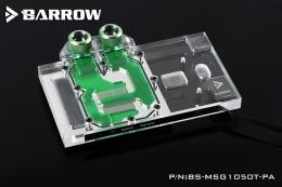 Фото Водоблок Barrow для видеокарты MSI GTX1050Ti/1050 Gaming (BS-MSG1050T-PA)