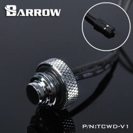 Фото Датчик температуры Barrow (TCWD-V1) в виде заглушки хром