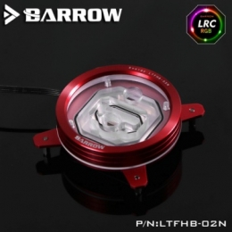 Фото Водоблок для процессора Barrow Energy series INTEL s115x CPU Water Block Red-Red (LTFHB-02N)