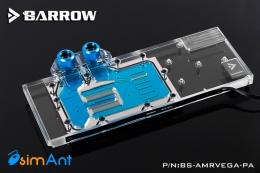Фото Водоблок на видеокарту AMD Radeon RX VEGA - Barrow (BS-AMRVEGA-PA)