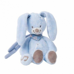 Фото Мягкая игрушка с музыкой кролик Биба (321068)
