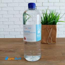 Фото Деминерализованная вода (Дистиллированная вода) 1L