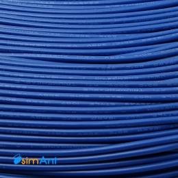Фото Монтажный провод синий 2.1мм
