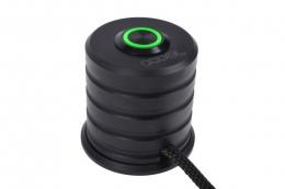 Фото Переключатель Alphacool 19mm Green Lighting - Deep Black