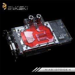 Фото Водоблок Bykski N-AS1070ICE-X на видеокарту GTX 1070