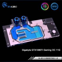 Фото Водоблок BykSki для видеокарты Gigabyte GTX1080Ti Gaming (N-GV1080TIG1-X)