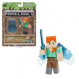 Фото Игровая фигурка Minecraft Alex with Elytra Wings серия 4(16492M)
