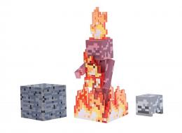 Фото Игровая фигурка Minecraft Skeleton on Fire серия 4(19974M)
