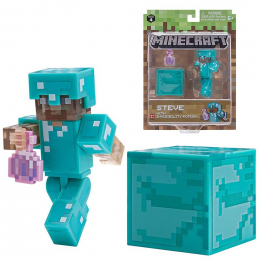 Фото Игровая фигурка Minecraft Steve with Invisibility Potion Potion серия 4(19976M)