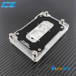 Фото Водоблок для процессора ICE AMD Ryzen Threadripper, acrylic/nickel