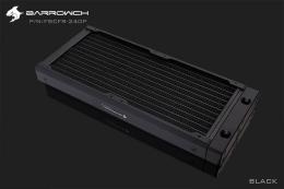 Фото Радиатор водяного охлаждения BARROWCH Chameleon Fish series черный 2х120