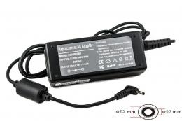 Фото Блок питания для ноутбуков ASUS 220V, 19V 40W 2.1A (2.5*0.7) PowerPlant