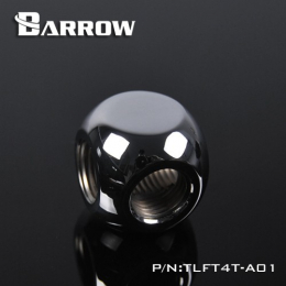 Фото Разветвитель 4 входа G1/4 металлический хром Barrow (TLFT4T-A01)
