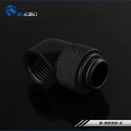 Фото Поворотный угловой адаптер 90 градусов Bykski (B-RD90-X) G1/4 черный